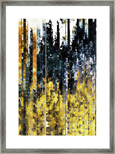 1 Peter 1 7. Tested By Fire Framed Print