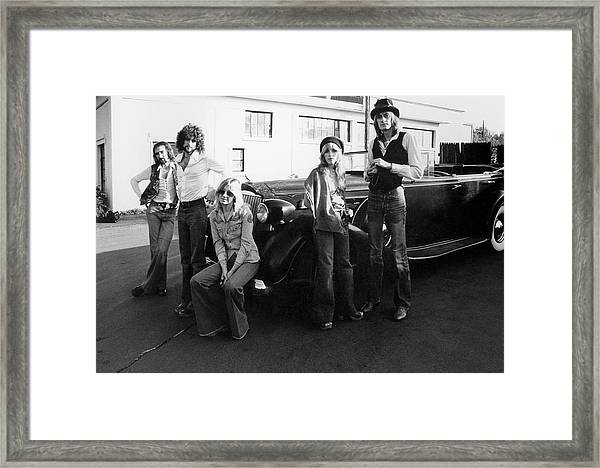Photo Of Fleetwood Mac Framed Print by Fin Costello