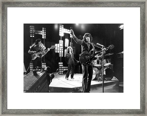 Photo Of Who Framed Print