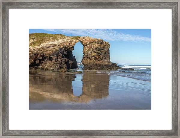 Playa De Las Catedrales - Spain Framed Print