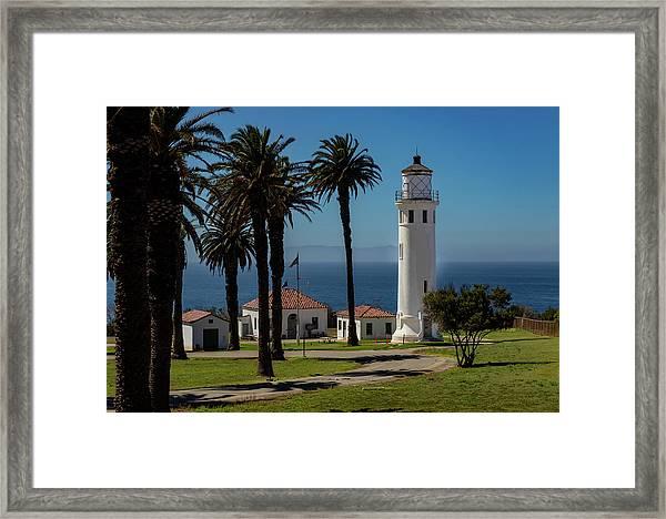 Point Vicente Lighthouse Framed Print