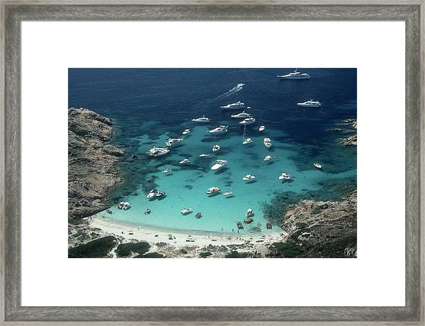 Porto Rotondo Framed Print