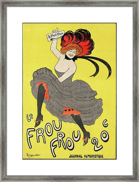 Poster By Leonetto Cappiello Framed Print