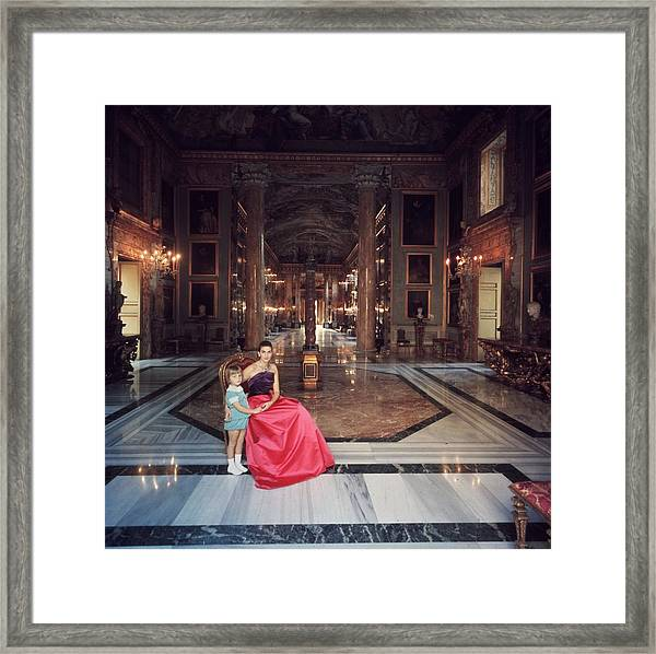 Princess Colonna Framed Print