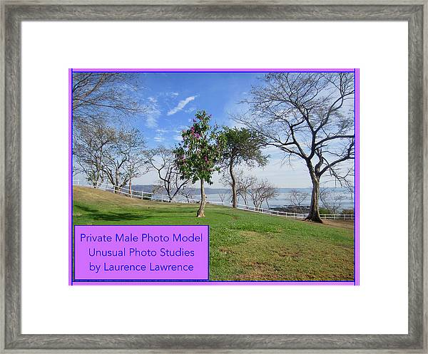 Private Photo Model Bn Framed Print