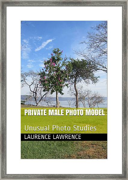 Private Photo Model K Framed Print