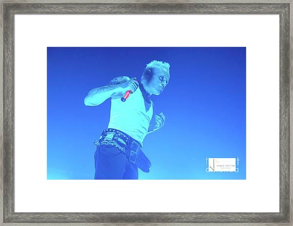 Prodigy Keith Flint  Framed Print