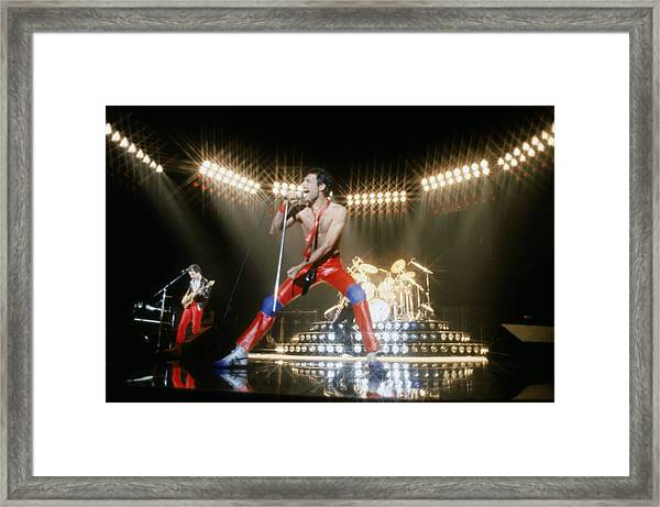 Queen Conference Framed Print