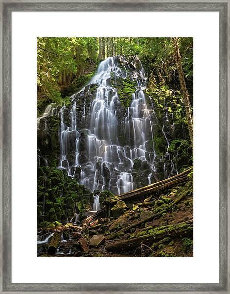 Ramona Falls Framed Print