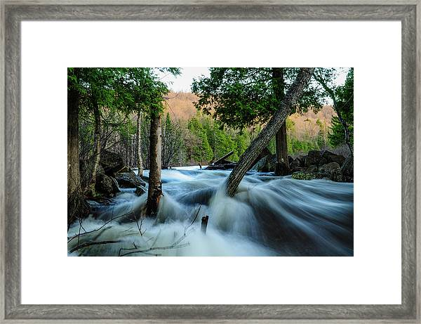 Raquette River Framed Print