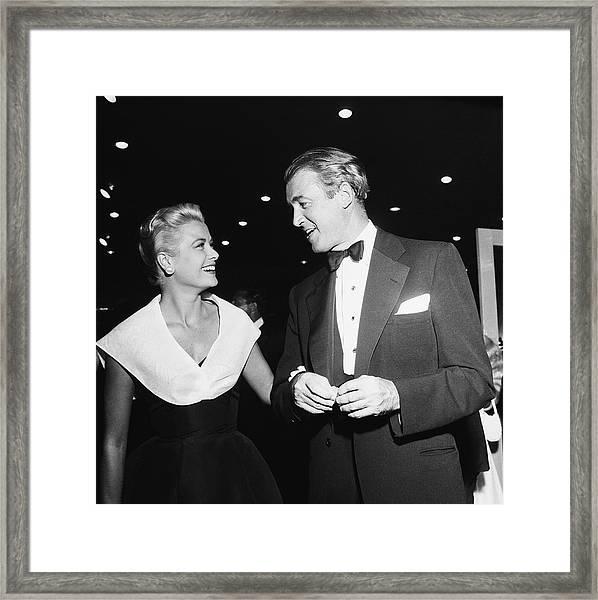Rear Window Stars Framed Print by Michael Ochs Archives