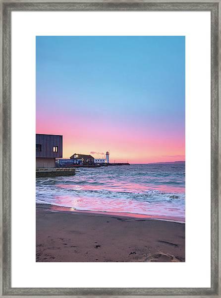 Rnli Scarborough Framed Print