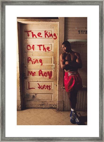 Roy Jones Jr Framed Print