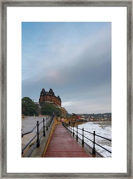 Scarborough South Bay Framed Print