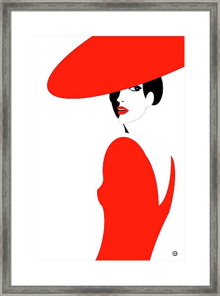 Scarlet Woman 1 Framed Print