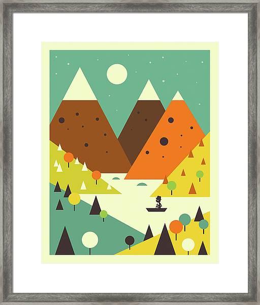 Scenic Framed Print