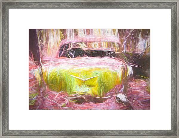 Scrap Car Iv Framed Print