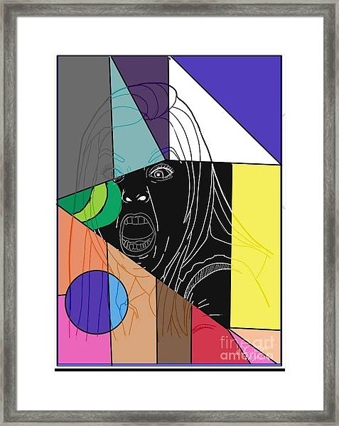 She Say Framed Print by William Bryant