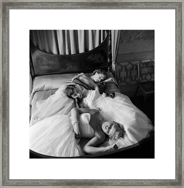 Sleeping Beauties Framed Print