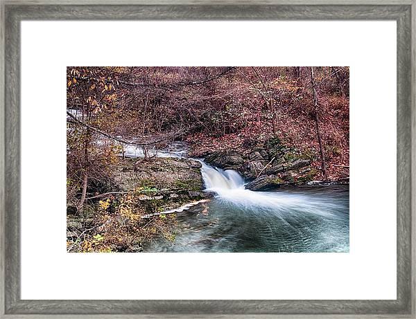 Small Falls Framed Print