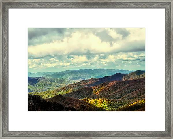 Smoky Mountain Memory Framed Print