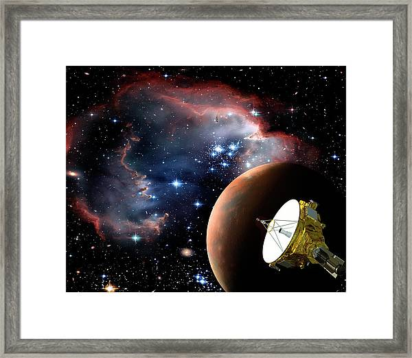 Space Exploration Framed Print