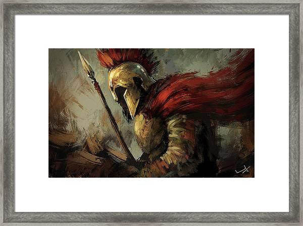 Spartan Framed Print