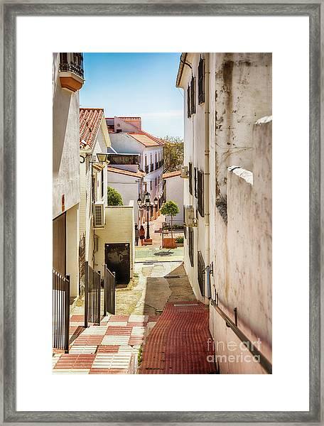 spring season, Spain Framed Print