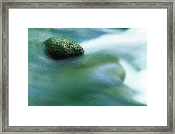 Stream Framed Print by Ooyoo