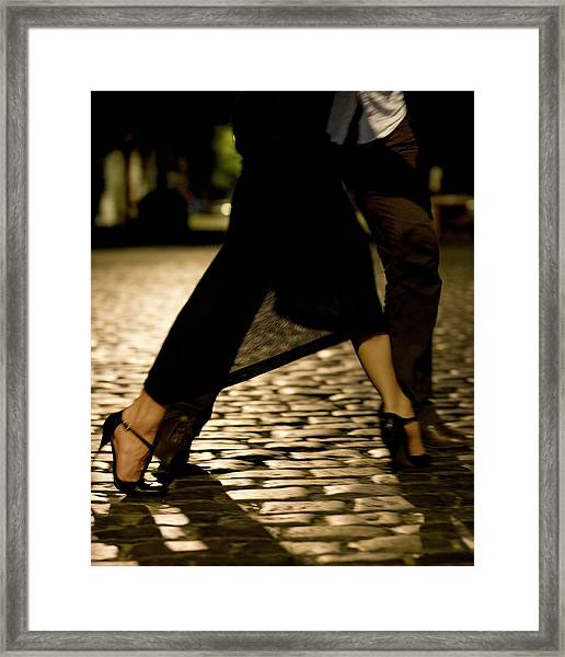 Street Tango Buenos Aires Framed Print