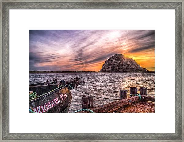 Sunset By The Bay Framed Print by Fernando Margolles