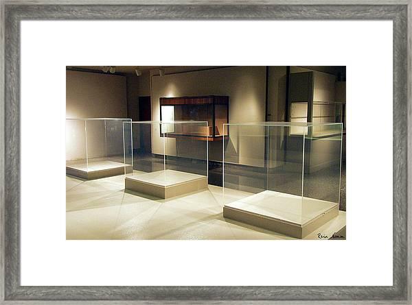 The Art Of Nothing Framed Print