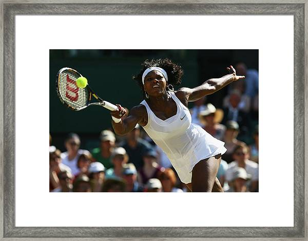 The Championships - Wimbledon 2008 Day Framed Print