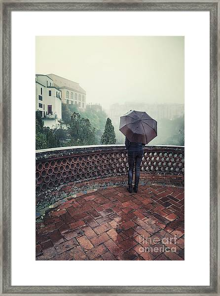 The Day It Rained Framed Print