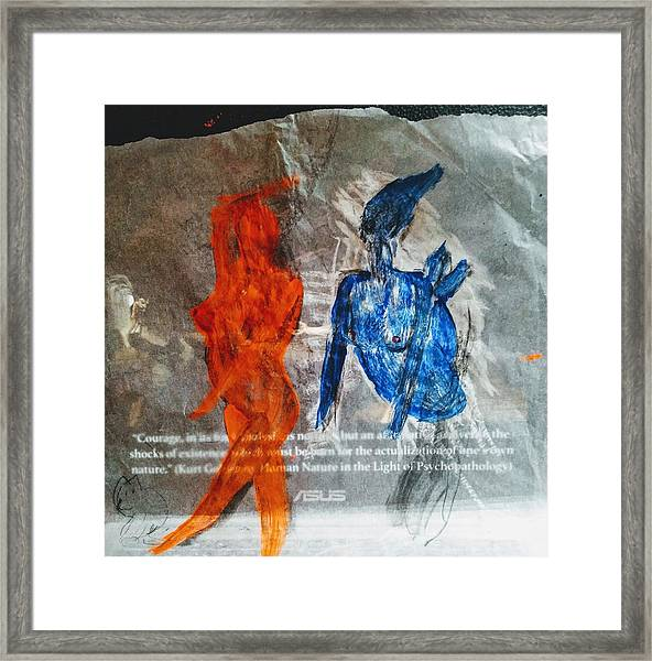 The Immolation Framed Print