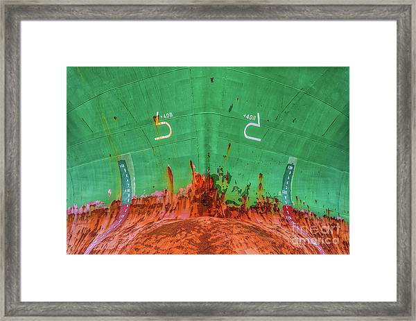 The Sharp End Framed Print by Colin Woods