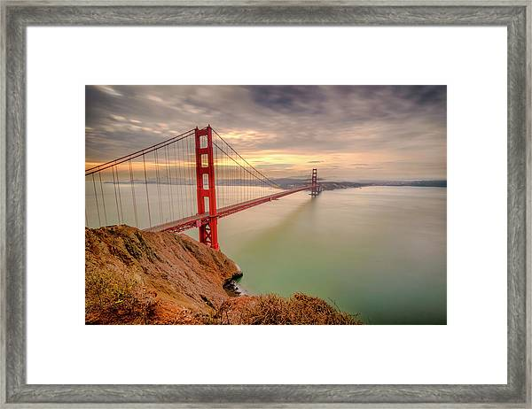 The View- Framed Print
