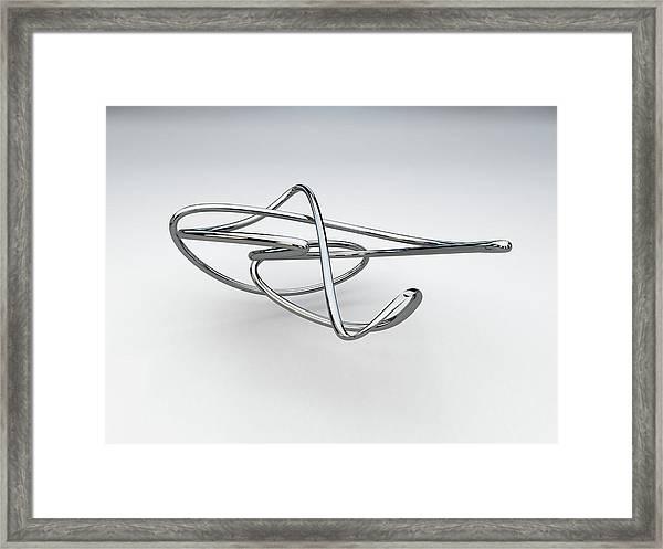 Totally Tubular 1 Framed Print
