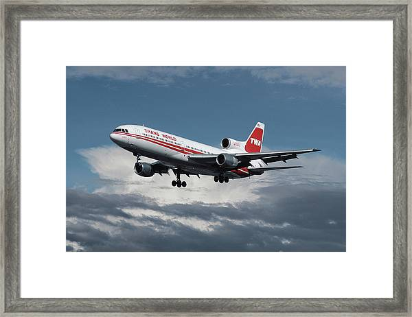 Trans World Airlines L-1011 Tristar Framed Print