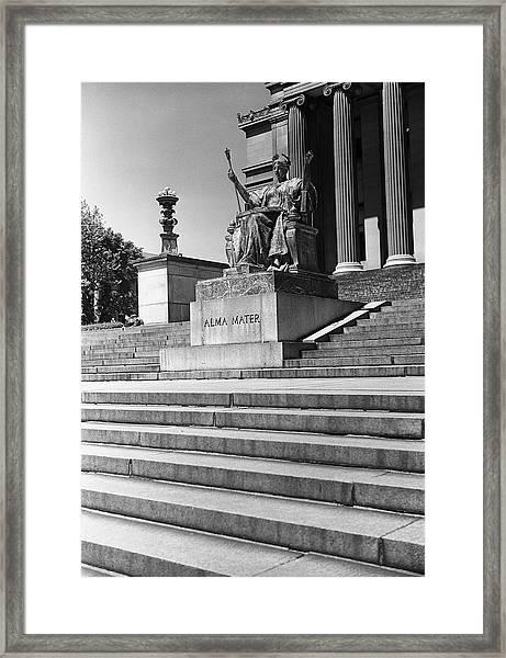 Usa, New York City, Columbia Framed Print