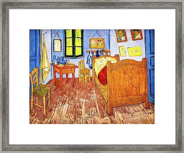 Van Gogh's Bedroom Framed Print