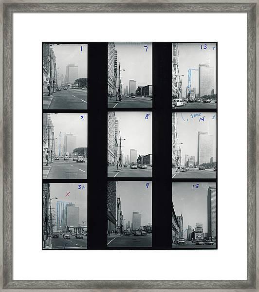 Views Near Michigan Avenue Framed Print