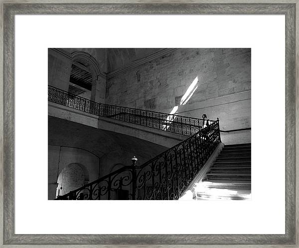 Where Does It Lead? Framed Print