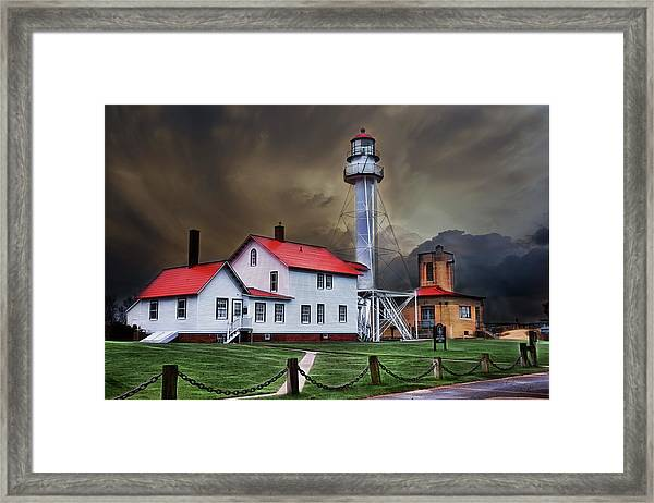 Whitefish Point Lighthouse Framed Print