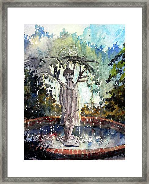 Why Does It Always Rain On Me Framed Print