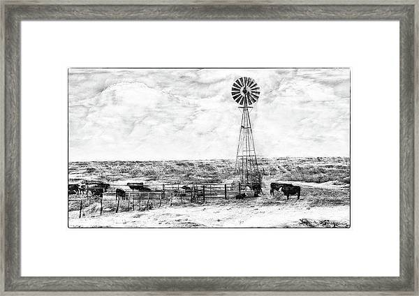 Winter Storm II Framed Print