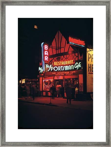 New York Framed Print by Andreas Feininger