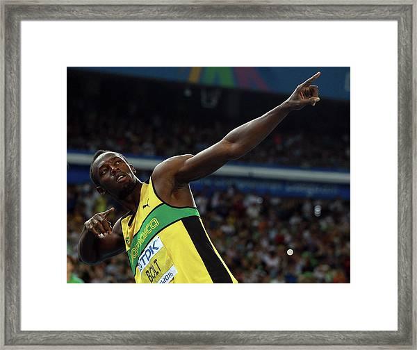 13th Iaaf World Athletics Championships Framed Print