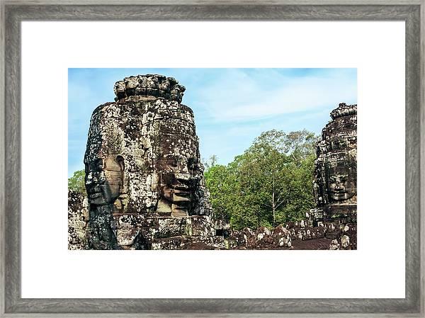 Siem Reap, Cambodia Framed Print by Miva Stock