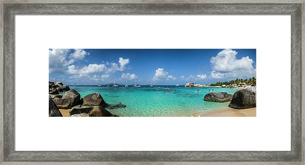 British Virgin Islands, Virgin Gorda Framed Print by Walter Bibikow